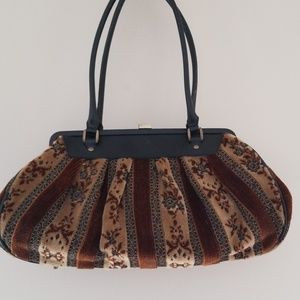 MAXX NEW YORK Tapestry doctor's bag purse